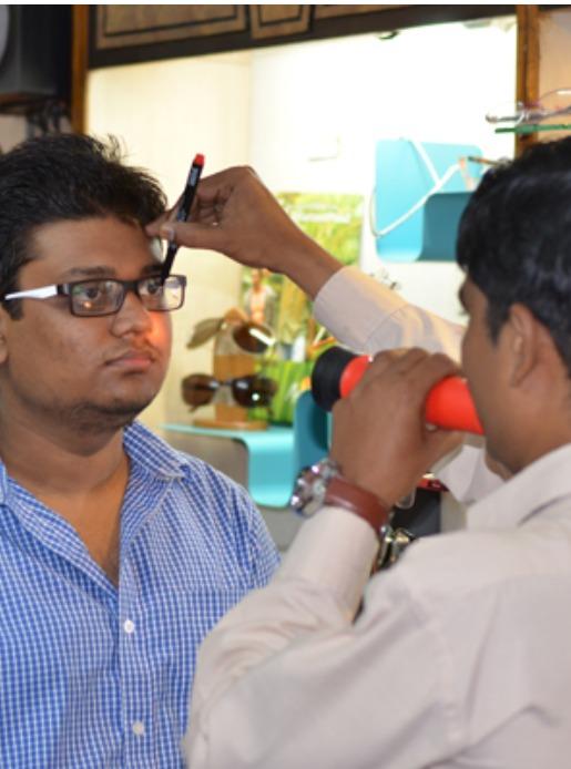Pupillary marking